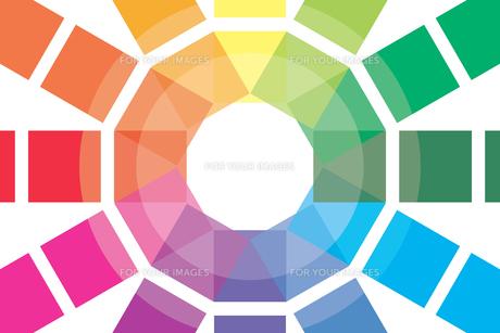 背景素材壁紙 (虹色の写真素材 [FYI00227065]