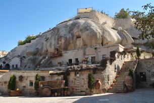 石の家 トルコの写真素材 [FYI00227073]