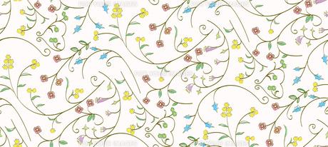 マルチカラーの花柄パターンの素材 [FYI00227110]