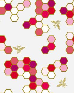 和柄、六甲散しと蜂の写真素材 [FYI00227119]