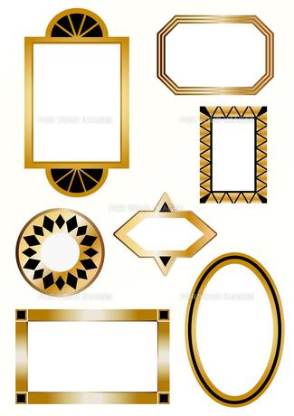 金のフレームの素材 [FYI00227121]