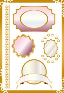 輝くフレーム素材の素材 [FYI00227135]