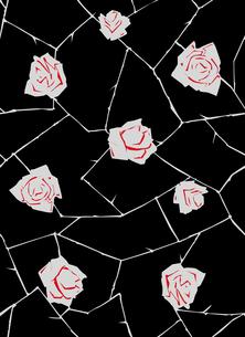 アンティークローズのパターンの素材 [FYI00227140]