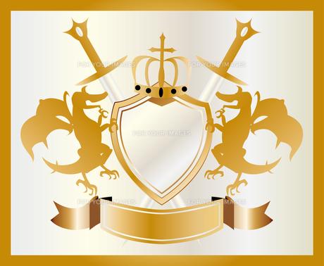 金の紋章の素材 [FYI00227165]
