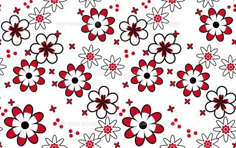 花のパターンの素材 [FYI00227179]