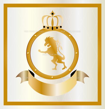 金のエンブレムの素材 [FYI00227181]