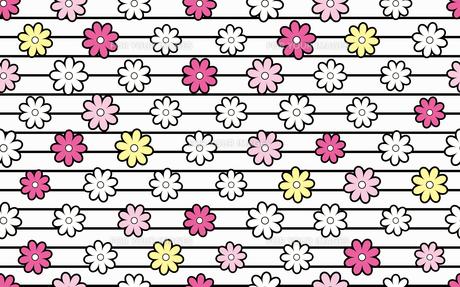 花のパターンの素材 [FYI00227201]
