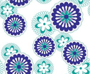 花のパターンの素材 [FYI00227211]