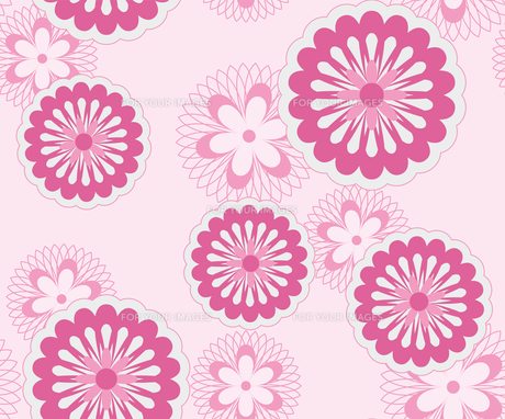 花のパターンの素材 [FYI00227213]