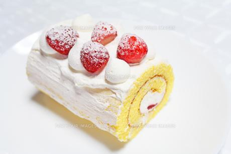 ロールケーキの写真素材 [FYI00227738]