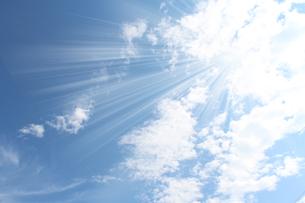 空と日ざしの写真素材 [FYI00227767]