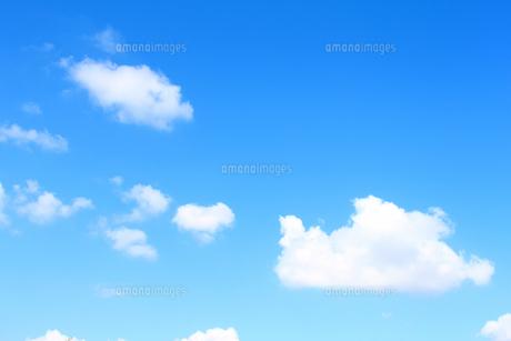青空と雲の写真素材 [FYI00227791]