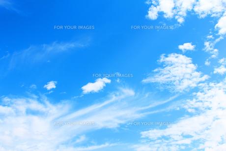 青空と雲の素材 [FYI00227826]