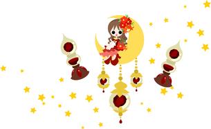 赤い宝石の妖精の写真素材 [FYI00227872]