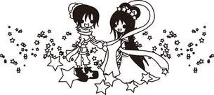 織姫と彦星の写真素材 [FYI00228155]