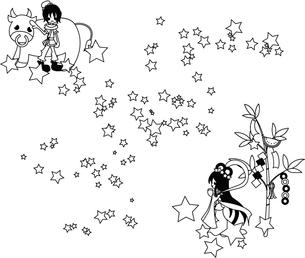 織姫と彦星の写真素材 [FYI00228159]