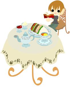 カフェでお茶の写真素材 [FYI00228173]