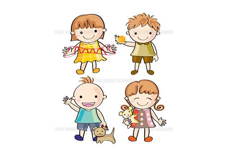 元気な子ども の写真素材 [FYI00228189]