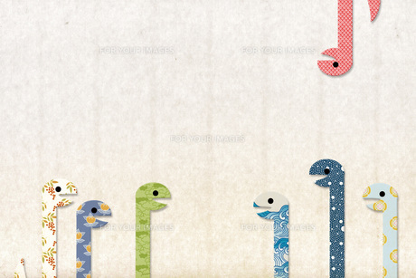 巳年 年賀 ヘビの写真素材 [FYI00228195]