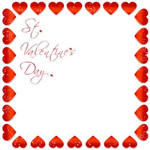 StValentine バレンタインデー フレームの写真素材 [FYI00228227]