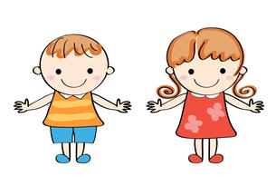 笑顔の子供 の写真素材 [FYI00228240]