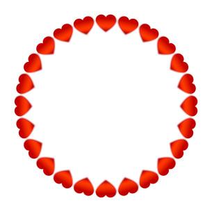 StValentine バレンタインデー フレームの写真素材 [FYI00228260]