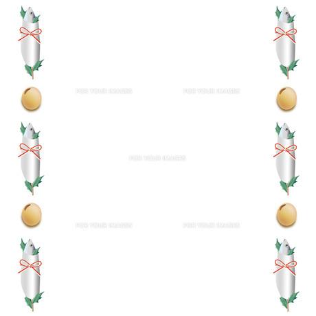 節分豆と鰯頭イワシの写真素材 [FYI00228263]