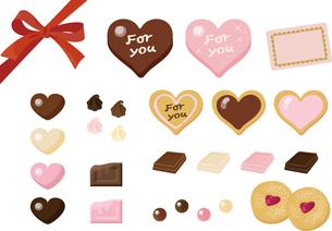 チョコレートのギフトセットの写真素材 [FYI00228360]
