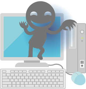 インターネット犯罪の写真素材 [FYI00228399]