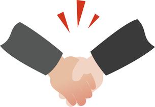握手する手の写真素材 [FYI00228402]