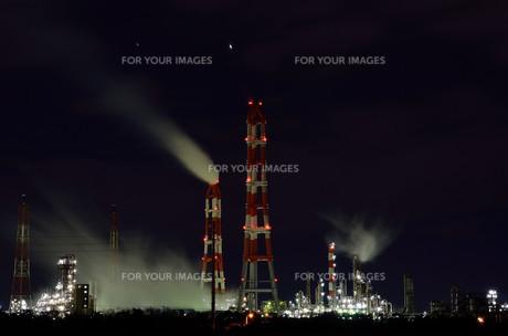 煙突の写真素材 [FYI00228633]