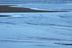 潮動く瀬戸の海岸の写真素材 [FYI00228944]