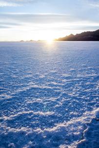 ウユニ塩湖、ボリビアの写真素材 [FYI00229154]
