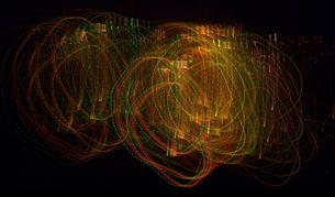 極彩細色図「ぐるぐる」の写真素材 [FYI00229536]