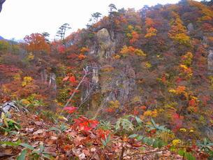 鳴子温泉郷「山肌の美観」の写真素材 [FYI00229601]
