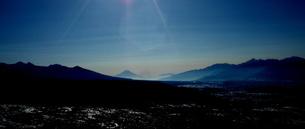 富士山「霧ヶ峰からの眺望」の写真素材 [FYI00229619]