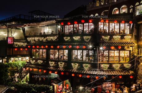 台湾の夜景の写真素材 [FYI00229951]