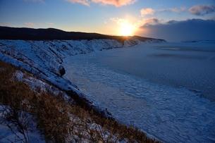 オホーツク海の流氷の素材 [FYI00230158]
