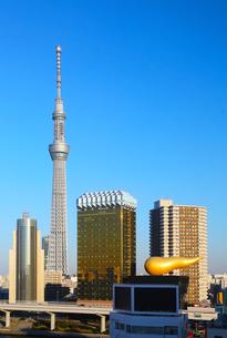 東京スカイツリー。浅草よりの写真素材 [FYI00230180]