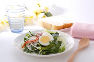 朝食テーブルイメージ の写真素材 [FYI00230204]