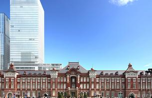 東京駅の写真素材 [FYI00230212]