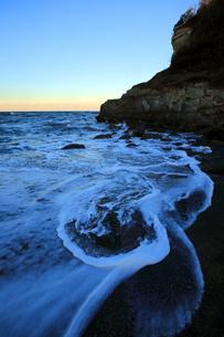 海岸と波の写真素材 [FYI00230294]