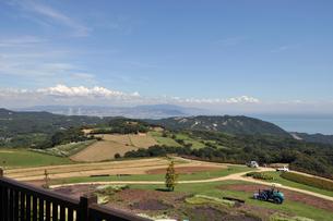 淡路島 花さじき からの風景の写真素材 [FYI00230599]