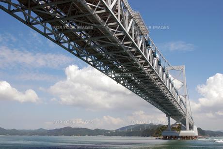 明石海峡大橋の写真素材 [FYI00230614]