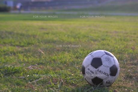 サッカーボールの素材 [FYI00230636]