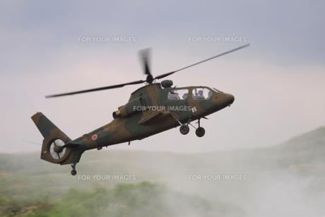 偵察ヘリコプターの写真素材 [FYI00230637]