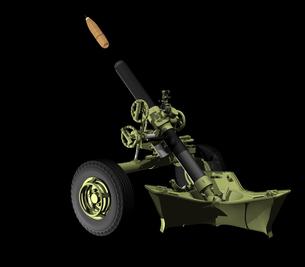 重迫撃砲の写真素材 [FYI00230687]