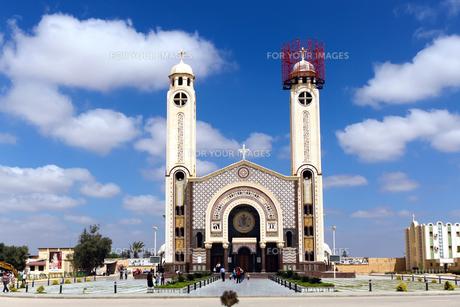 聖メナス大聖堂の写真素材 [FYI00230736]