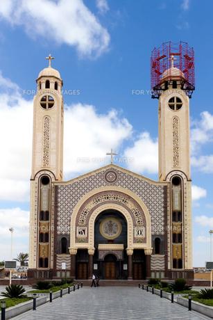聖メナス大聖堂の写真素材 [FYI00230738]