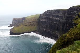 アイルランド共和国、モハーの断崖の写真素材 [FYI00230745]